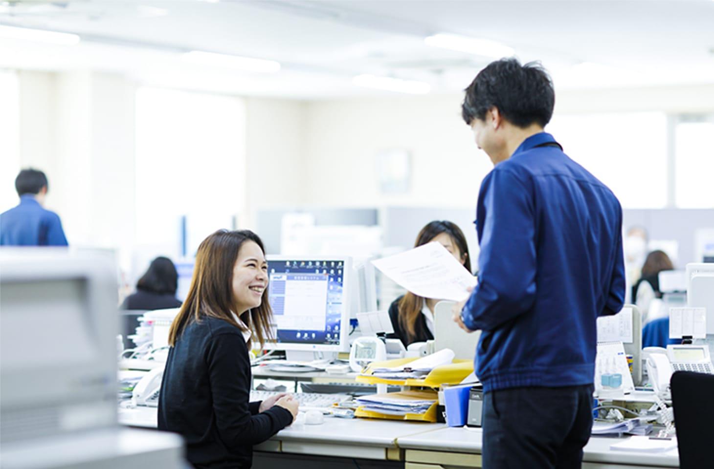 小松鋼機株式会社の内観画像